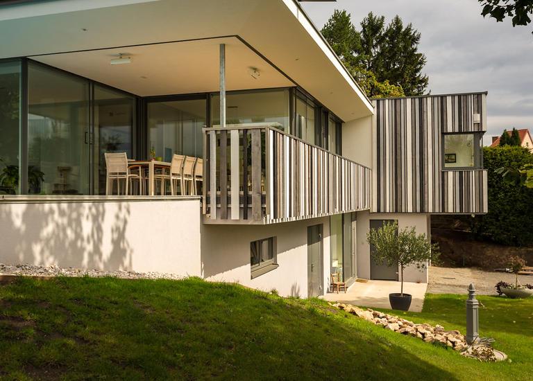 Fertigteilhaus Holzrigelbauweise