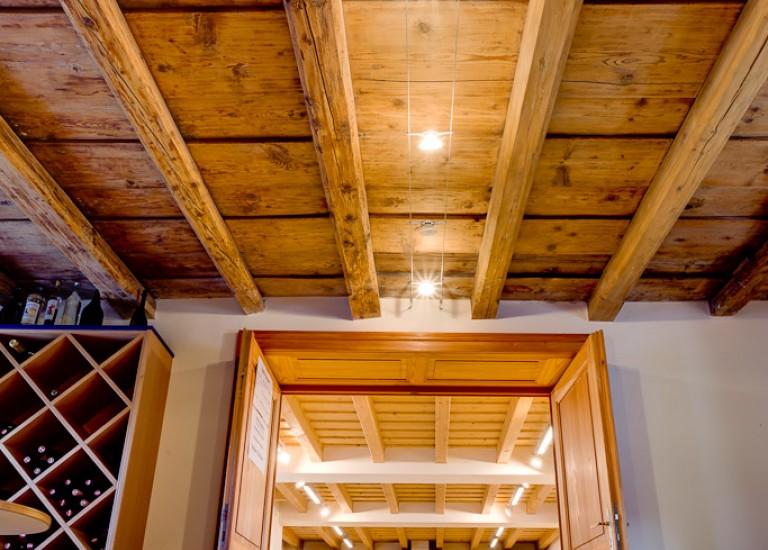 Sanierung der Holzdecke Martinshof