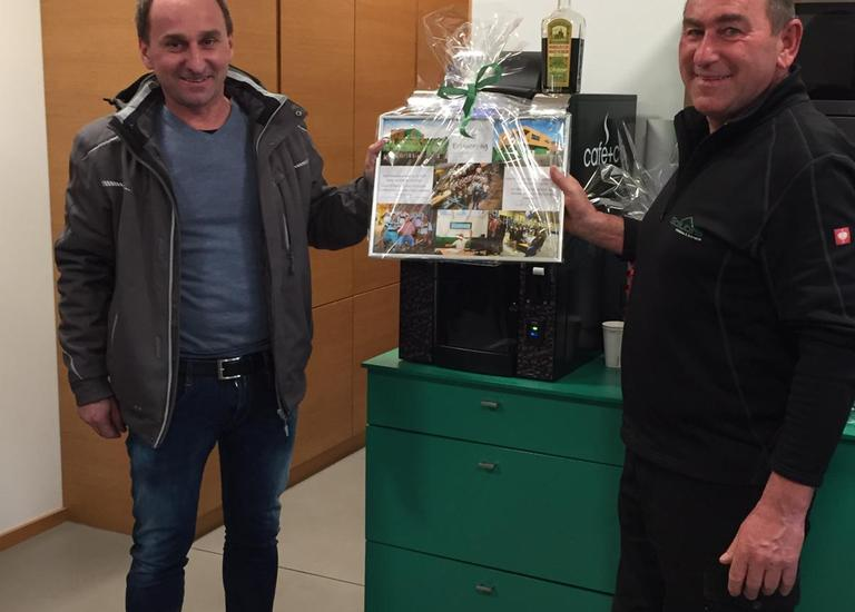 Ferenz Pinezits und Franz Gollubits