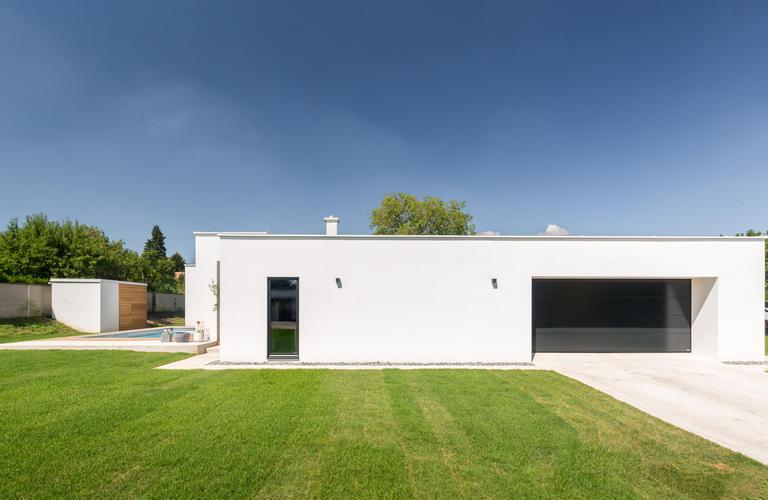 Haus in Siegendorf Herstellung Franz Gollubits GmbH  Co KG, Planung PASCHINGER ARCHITEKTEN ZT KG