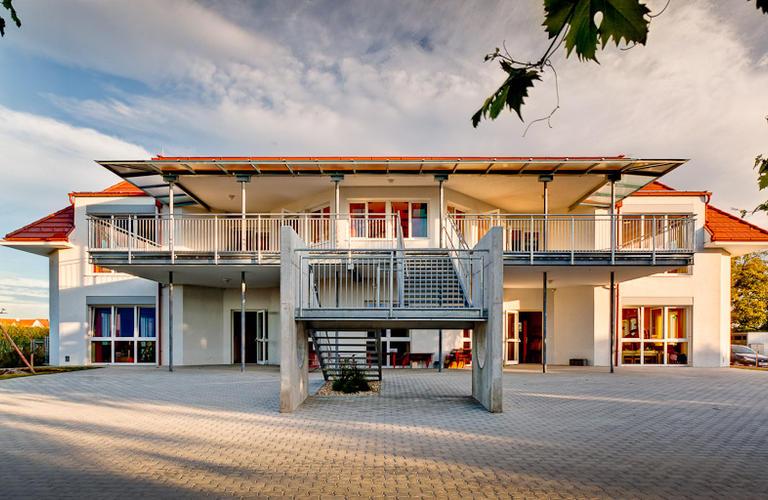 Kindergarten Trausdorf Außenansicht