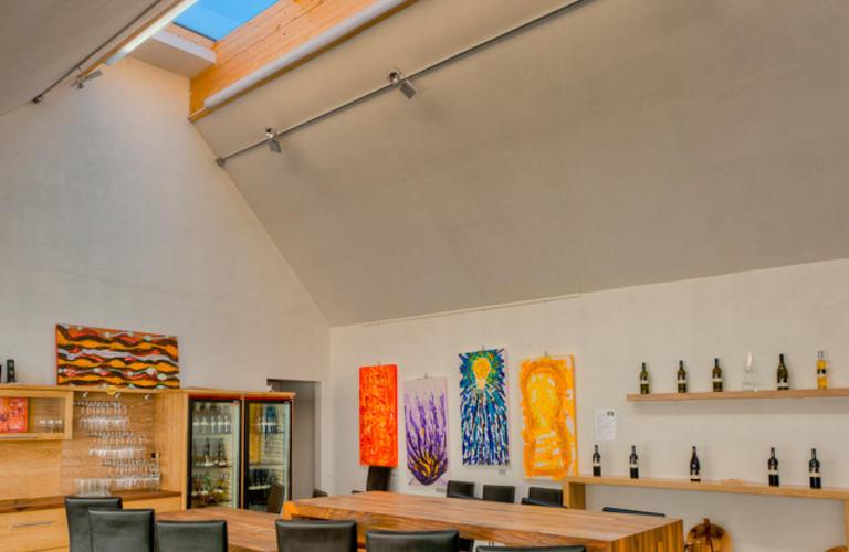 Weingut Sailer Großhöflein Lichtkuppel und Innenausbau