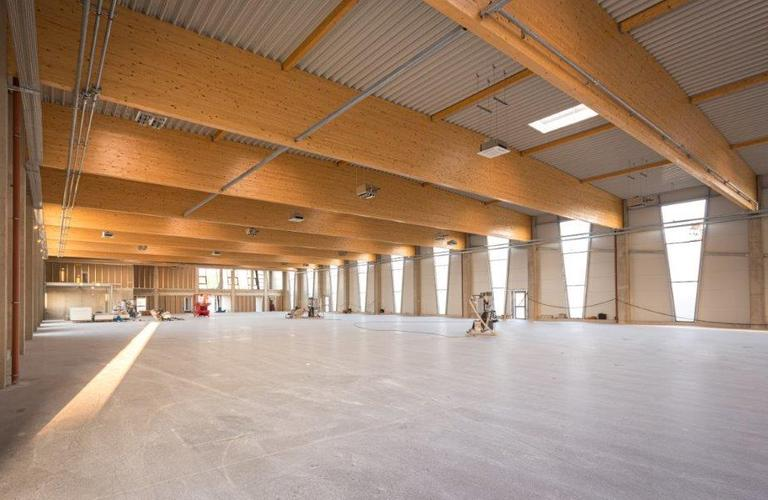 Holzhalle Raiffeisen-Lagerhaus