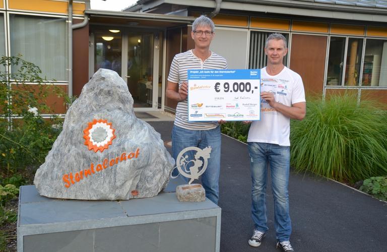 Holzbau und Zimmerei Franz Gollubits karitativer Sponsor