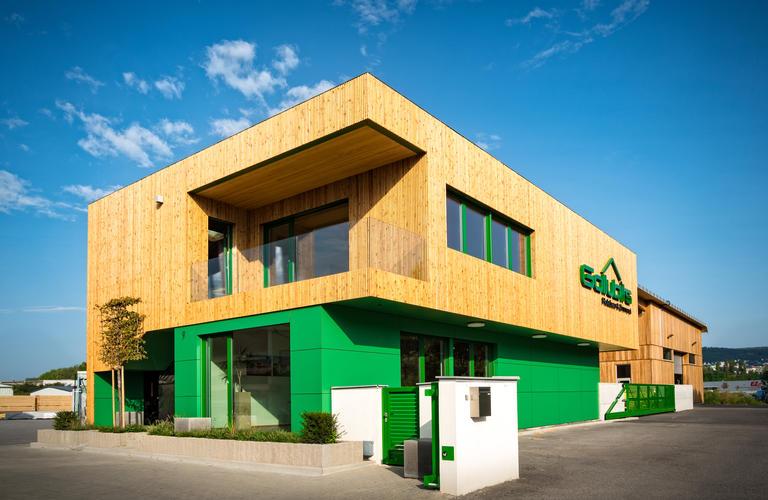 Fassade Konferenzgebäude Gollubits